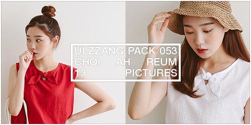 ulzzang pack 053.zip // choi ah reum by Michelledae