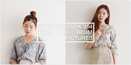ulzzang pack 054.zip // choi ah reum by Michelledae