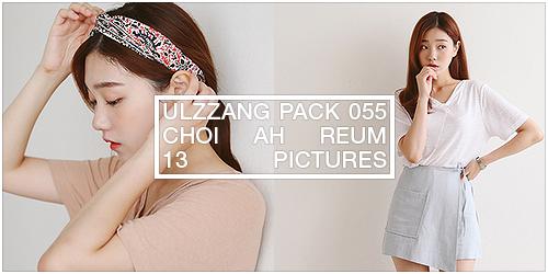 ulzzang pack 055.zip // choi ah reum by Michelledae