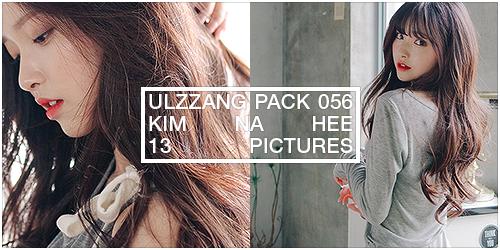 ulzzang pack 056.zip // kim na hee by Michelledae