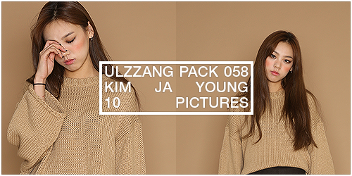 ulzzang pack 058.zip // kim ja young by Michelledae