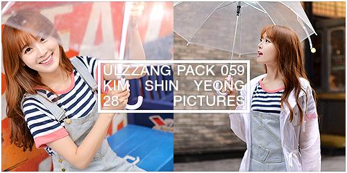 ulzzang pack 059.zip // kim shin yeong by Michelledae