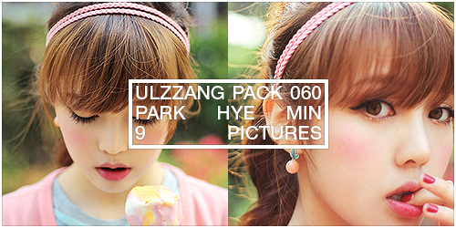 ulzzang pack 060.zip // park hye min by Michelledae