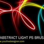 Abstract Light Brushes by zidanezjr