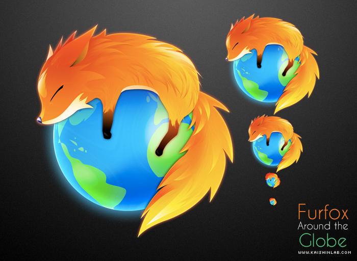 Furfox Around The Globe by kaishinchan