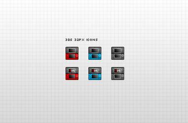 Nintendo 3DS iconized