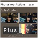 photoshop actions retro