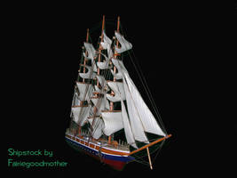 Pirate Ship Stock 4 psd by FairieGoodMother