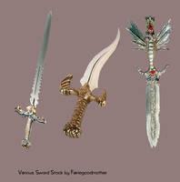 Various Sword pack1 Stock psd by FairieGoodMother