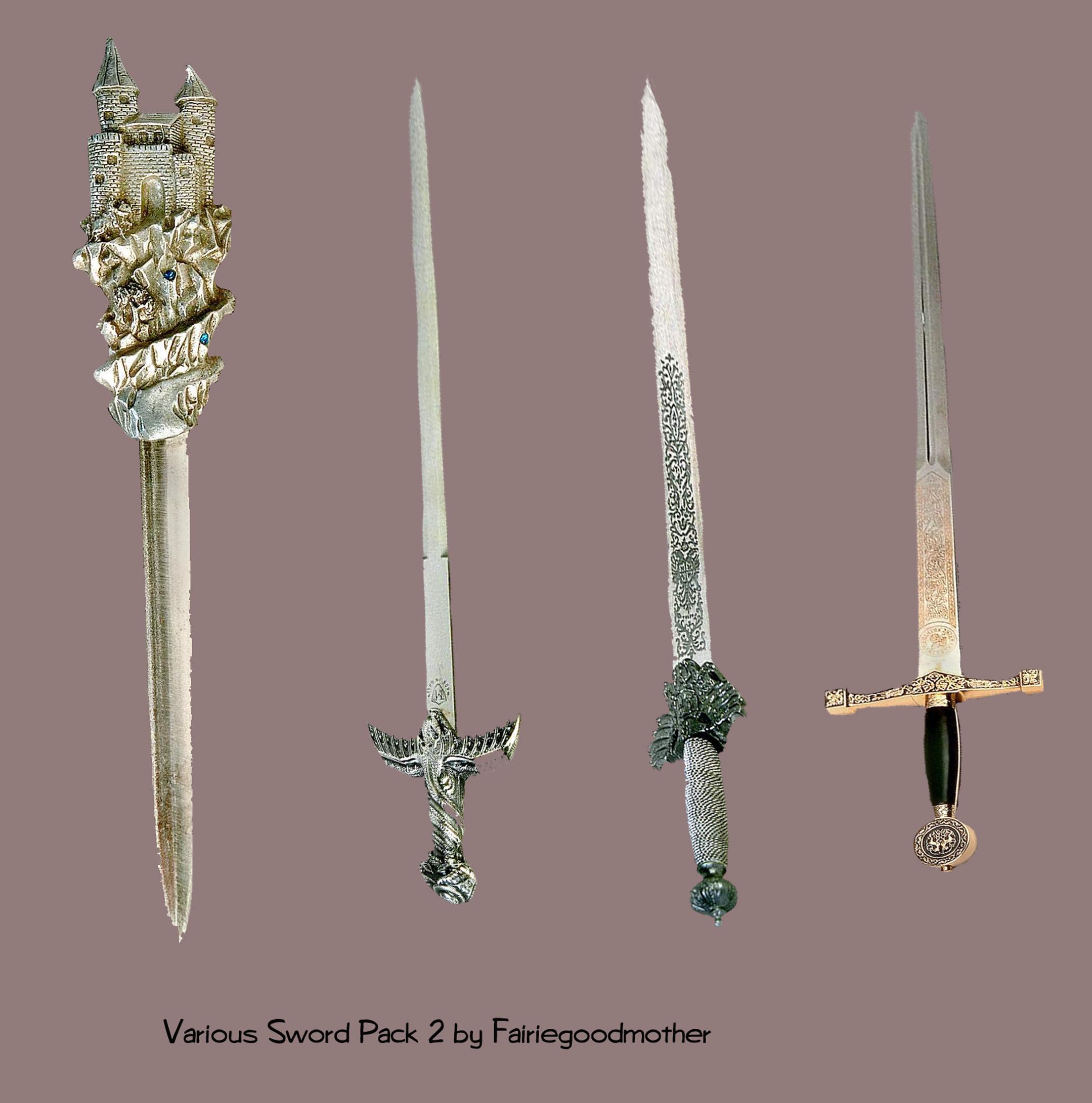 Various Sword pack2 Stock psd