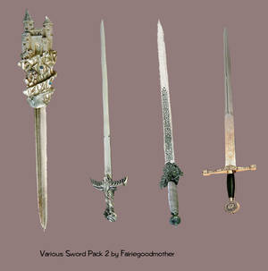 Various Sword pack2 Stock psd