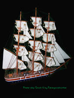 Pirate Ship Stock 6 psd by FairieGoodMother