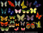 Butterfly and Moth Stock Pack
