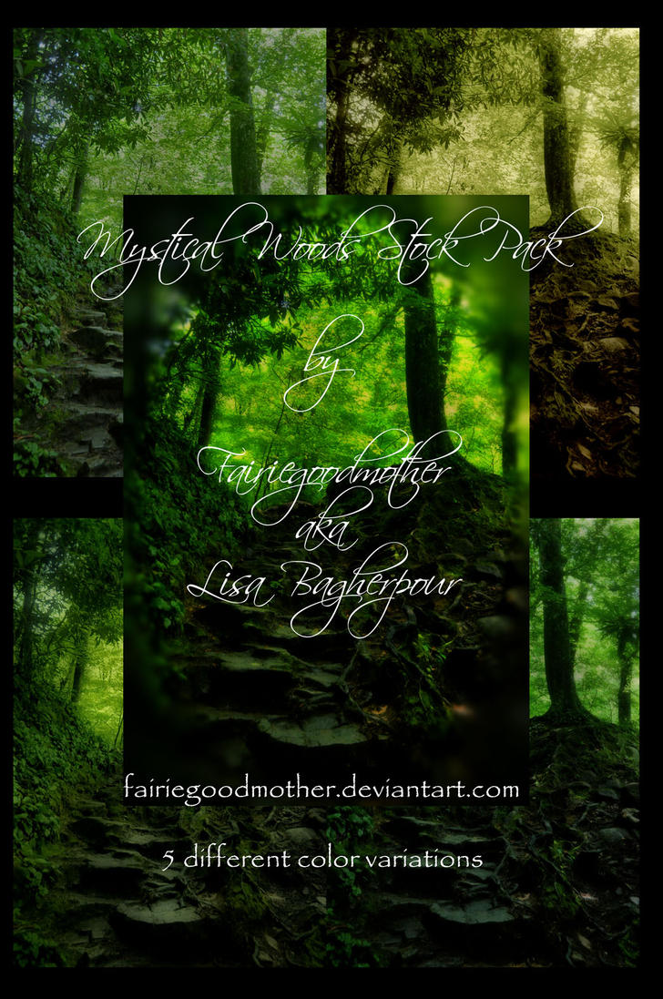 Mystical Woods Stock Pack by FairieGoodMother