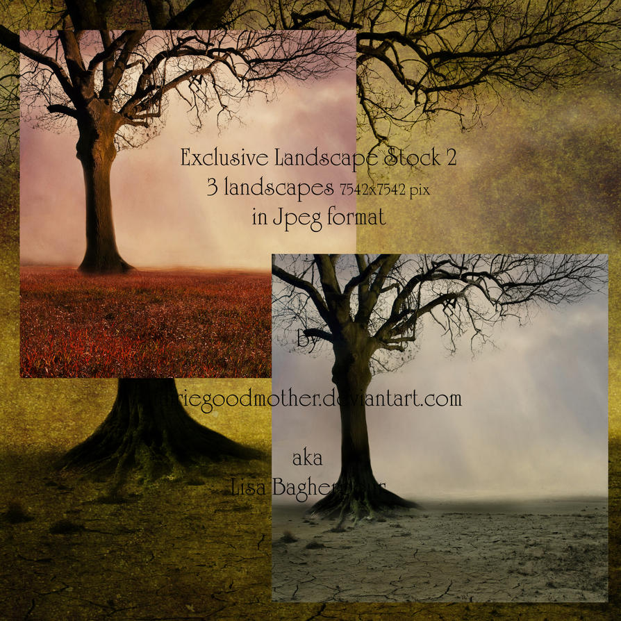 Exclusive Landscape Pack 2 by FairieGoodMother