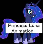 Luna Drinking Tea Animation