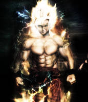 Goku ssj realistic by Shibuz4