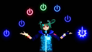 MMD Power Symbol 2.0 Download~ 10 Points by RitaLeader14