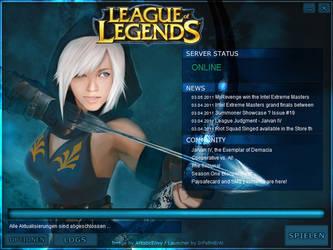 LeagueofLegends Ashe Launcher by Molchi90