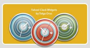 Clocks for Yahoo Widgets by lemondesign