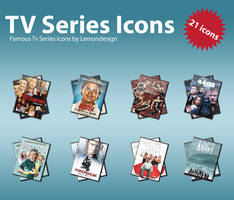 Tv Series Icons 2 by lemondesign