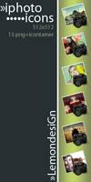 Sony Alfa iPhoto icons by lemondesign