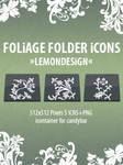 Foliage Folder Icons