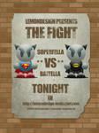 SuperFella VS BatFella