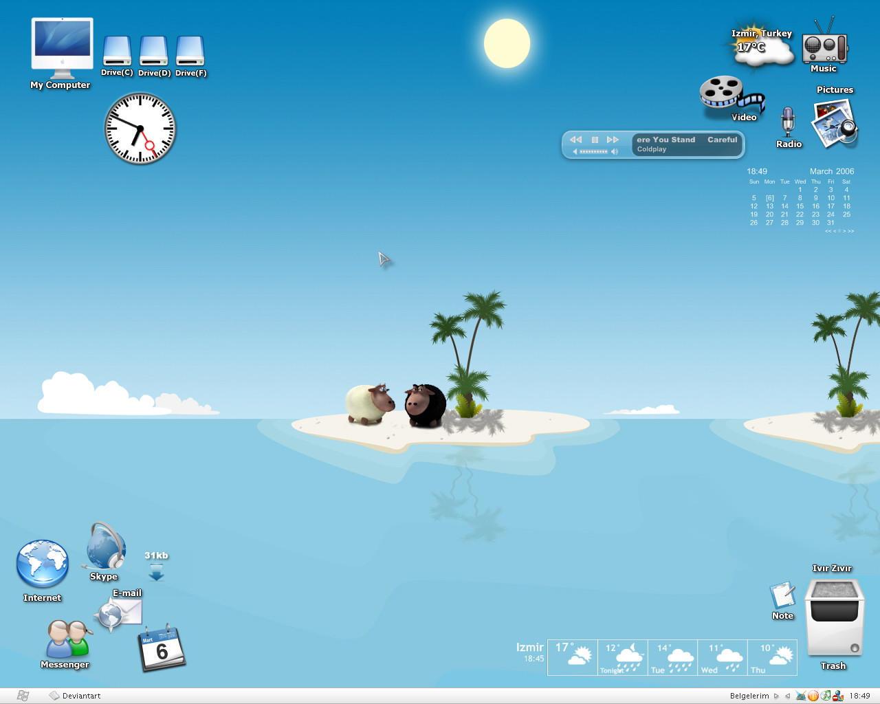 Holiday Desktop by lemondesign