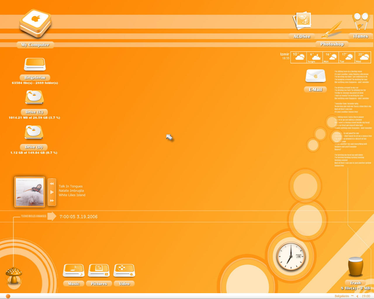 Orange by lemondesign