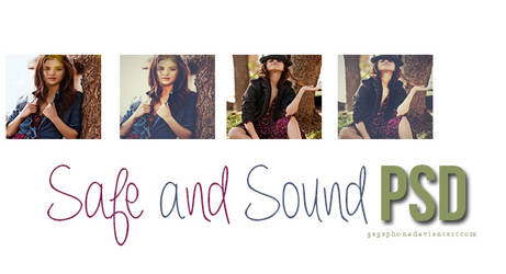 Safe and sound PSD by Gagaphone