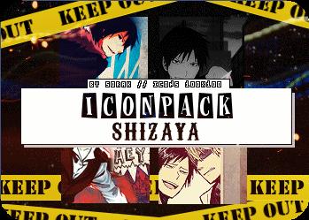 Iconpack Shizaya by SoritaK