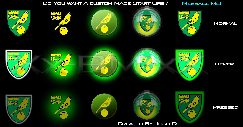 5 Norwich City Start Orbs By Desai01254 On DeviantArt