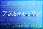 Font: Astral Tongue --UPDATE: VERSION 1.1