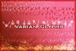 Font: Varian Glyphs