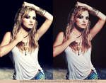 Alexandra Stan Colouring PSD