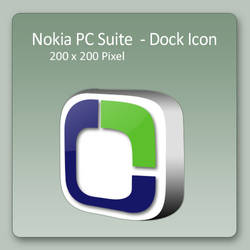 Nokia PC Suite - Dock Icon by lexhart