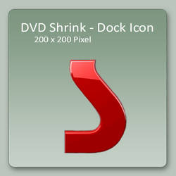 DVD Shrink - Dock Icon by lexhart