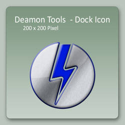 Deamon Tools - Dock Icon by lexhart
