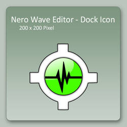 Nero Wave Editor - Dock Icon by lexhart