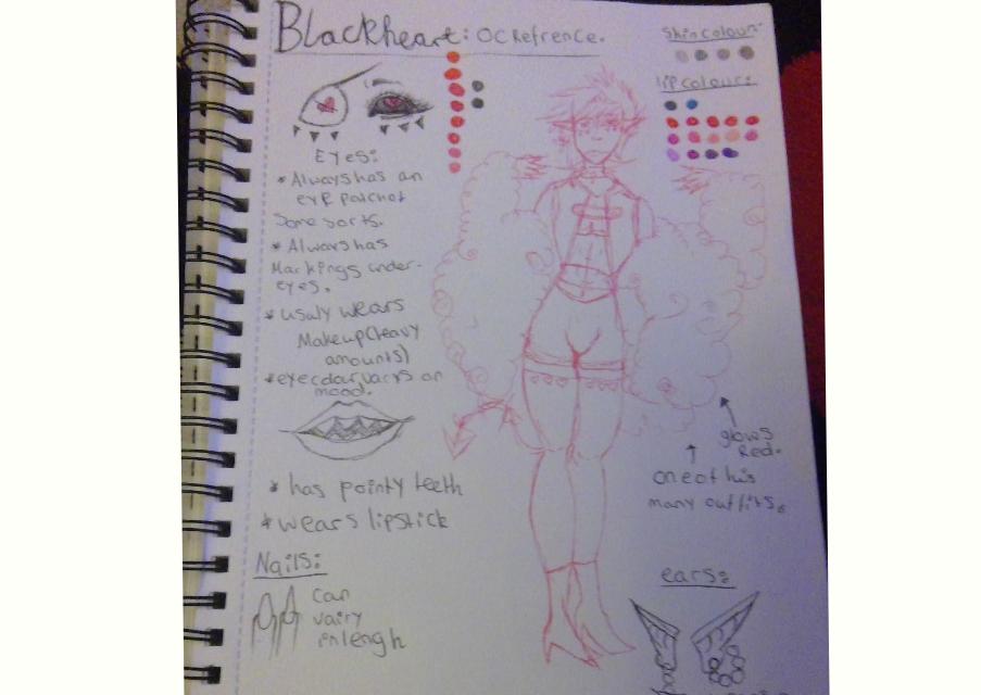 Blackheart Reference sheet by oddsockzx