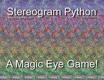 Stereogram Python Game by 3Dimka