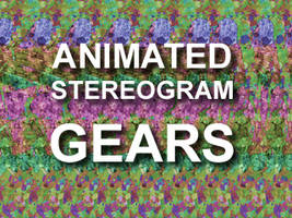 Animated Gears Stereogram