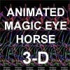 Animated Stereogram Horse