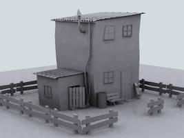 The Farmhouse Model by bindyeye