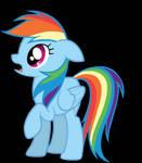 Rainbow Dash and Pinkie Pie Animation
