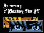 Phantasy Star IV: My tribute