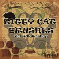 Kitty Kat Brushes by hissylizard