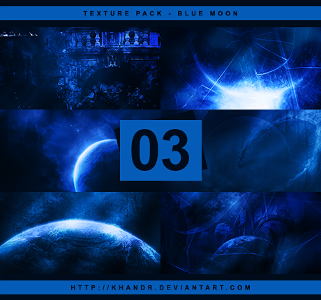 Blue Moon - Texture Pack #03