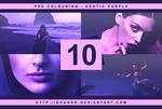 PSD #10 - Exotic Purple